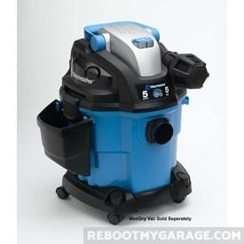 VacMaster VWM510 vacuum cleaner with wheel kit