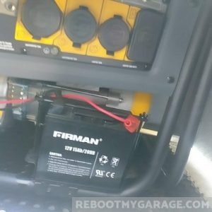 Firman generator power outlets