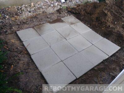16 blocks, we have a floor