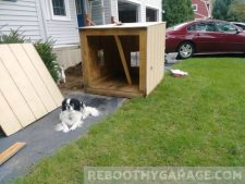 Shed I bought on Craigslist. Doggie not included.