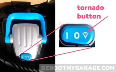 Use the tornado image switch to allow the remote control to turn the machine on and off.