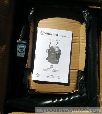VacMaster VWM510 unboxing: Motor and filter