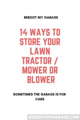 14 Ways to Store Your Tractor, Mower or Snow Blower