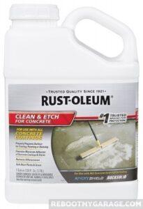 Rust-Oleum Clean & Etch for Concrete