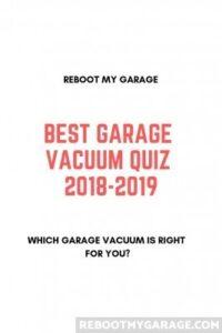 Best garage vacuum quiz