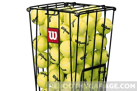 Best tennis ball storage