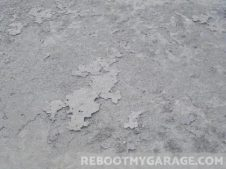 Laitance in concrete
