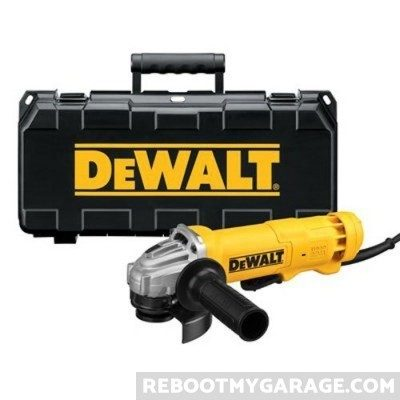DeWalt angle grinder and case