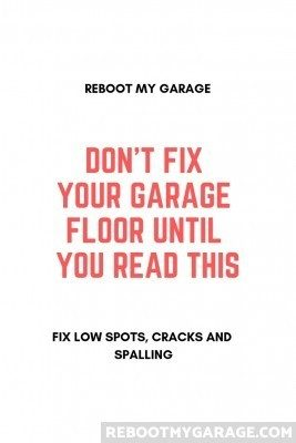 Don't fix your garage floor until you read this