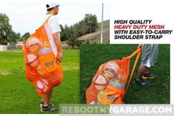 Fitdom extra heavy duty mesh bag