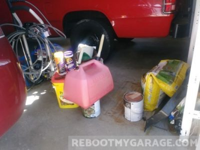 Gas can, Preen, pressure washer