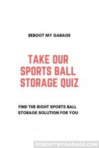 Take our sports ball storage quiz