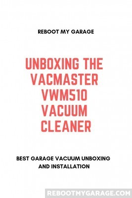 Unboxing the Vacmaster VWMB5080101 (formerly VWM510) vacuum cleaner