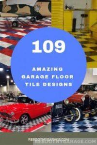 109 Amazing Garage Floor Tile Designs