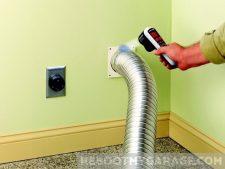 Black & Decker TLD100 Thermal Leak Detector blue means colder than baseline at vent