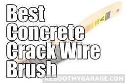 Best concrete crack wire brush