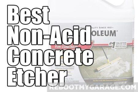 Best non-acid concrete etching product