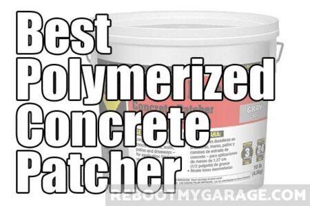 Best polymerized concrete patcher