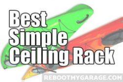 Best simple ceiling rack