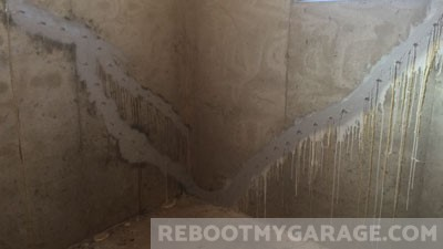 Basement crack epoxy repair failure. Don't ask more of the product than it promises.