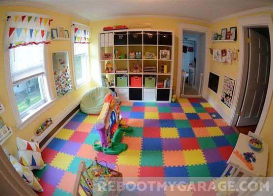 Garage Play Room