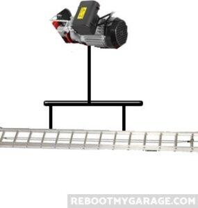 Hoist ladder bar