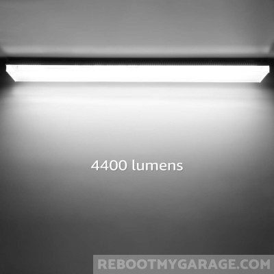 Leonlite 4 ft. 40w LED garage light