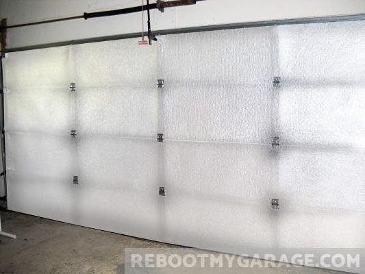 NASA TEch garage door insulation