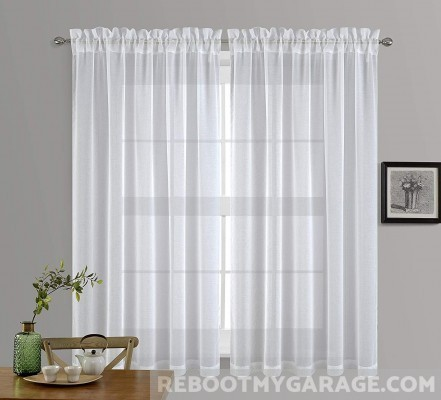 Nicetown sheer window curtains