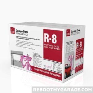 Garage door insulation kit