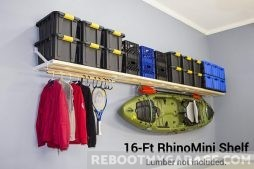 Rhino Garage Shelf 16 ft. x 20 in.