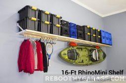 Rhino Garage Shelf 16 ft. x 20 in.