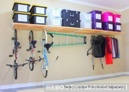 Rhino Garage Shelf: 16 ft. x 33.5 in.