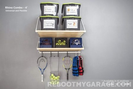Rhino Garage Shelf 4 ft. x 33.5 in. and 4 ft. x 20 in.