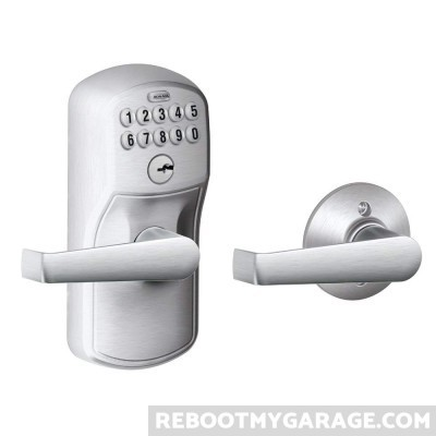 Schlage auto-lock garage door handle