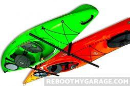 Store Your Board Kayak and Ladder Ceiling Storage Rack