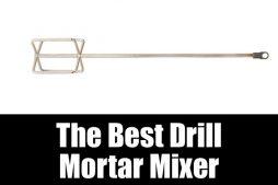The best drill mortar mixer