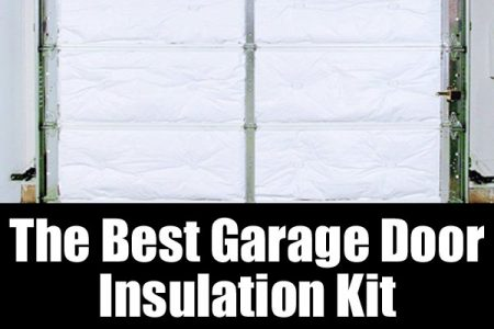 The best garage door insulation kit
