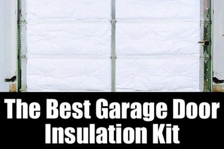 The best garage door insulation kit