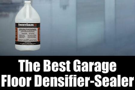 The best garage floor densifier sealer
