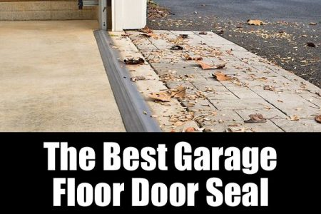 The best garage floor door seal