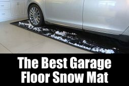 The best garage floor snow containment mat