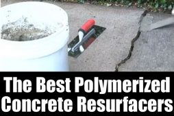 The best polymerized concrete resurfacers