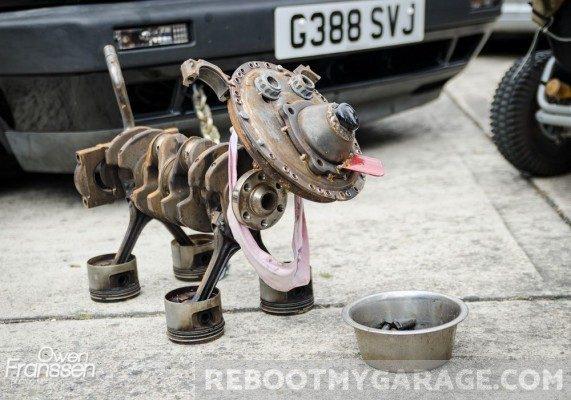 Welded Dog
