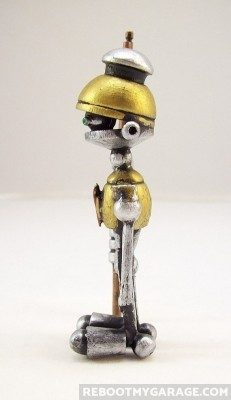 Marvin made of metal