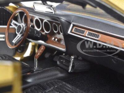 1971 Dodge Charger interior die cast model
