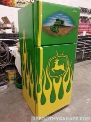 John Deere Fridge