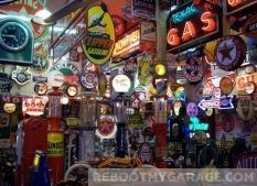 Gas Neon Sign