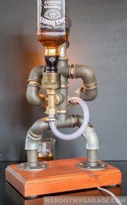 Pipe Jack Daniels Man