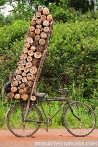 Lumber storage is a problem